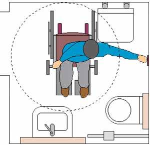 schema elettrico chiamata bagno disabili fare di una mosca